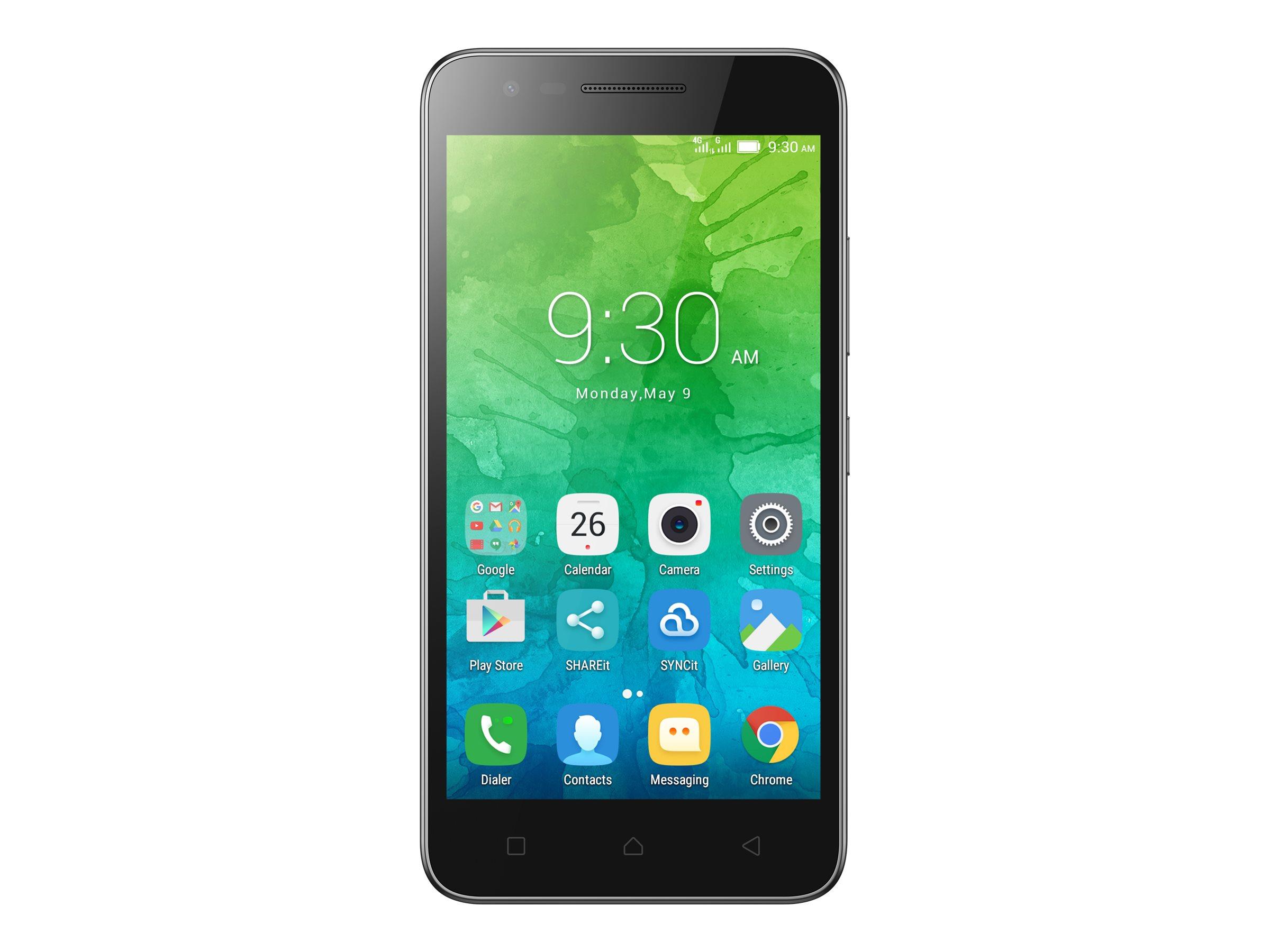Lenovo C2 Smartphone 8 MP 8 GB Schwarz - Smartphone - 8 GB