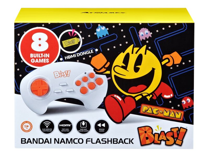 Millennium Atgames Bandai Namco Flashback Blast! - Plug-and-Play-TV-Spiel