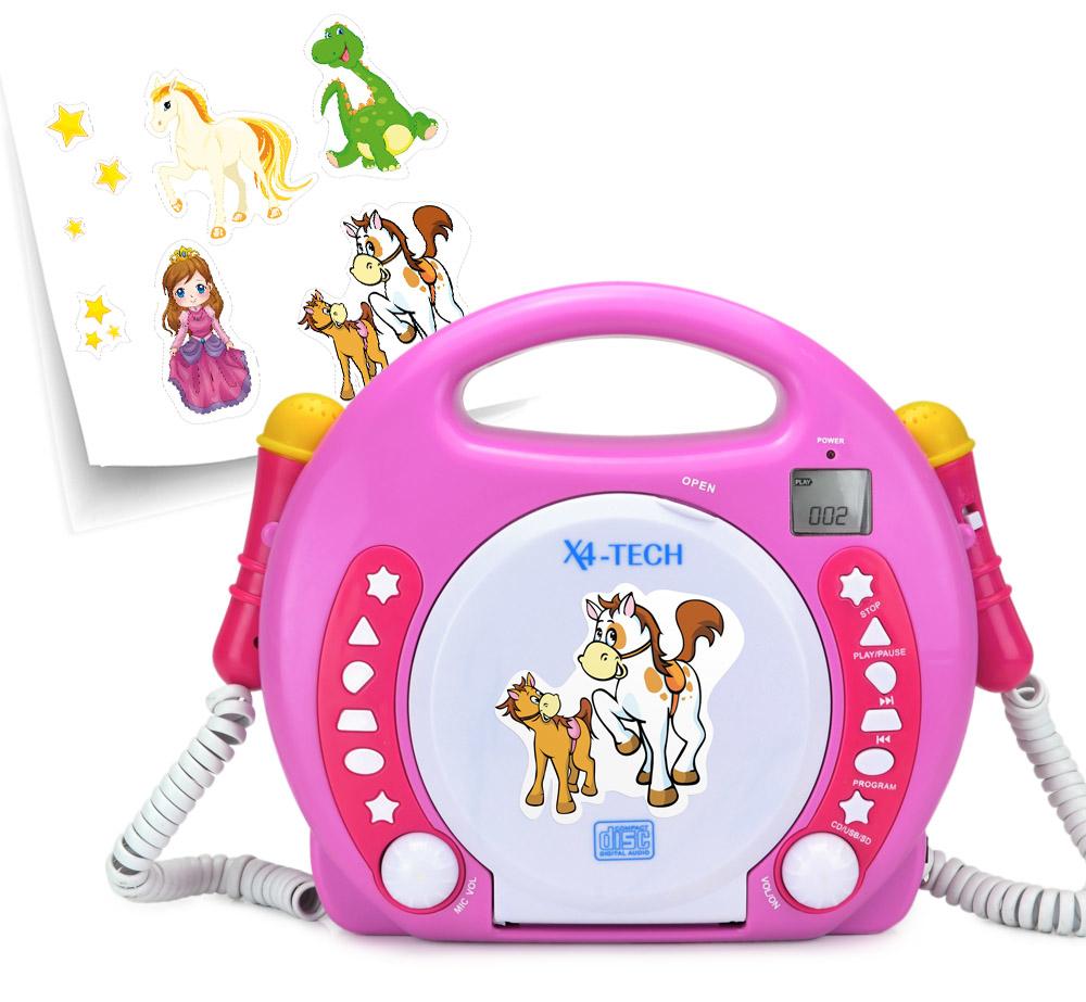 X4-TECH Bobb Joey (ohne Speicher) - MP3 Player - Pink