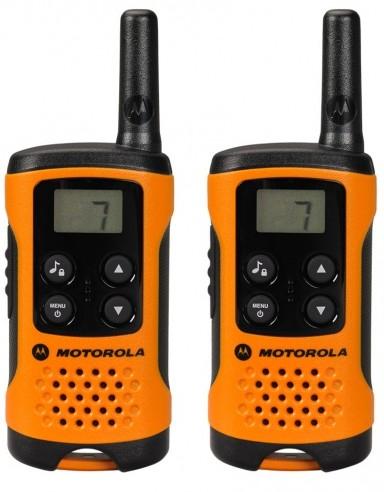 Motorola TLKR T41 orange Twinpack PMR Handfunkgert bis 4 km