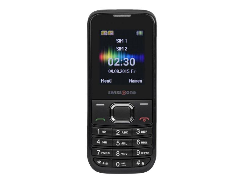 Swisstone SC 230 Dual-Sim schwarz GSM Mobiltelefon - Mobiltelefon - 600 mAh