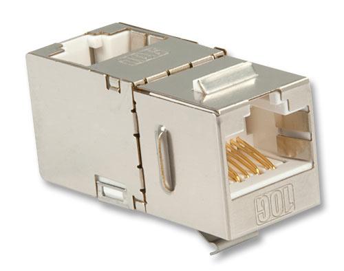 Lindy Cat.6A 10G Premium RJ45 STP Inline Coupler - Modularer Einschub (Kopplung) - RJ-45