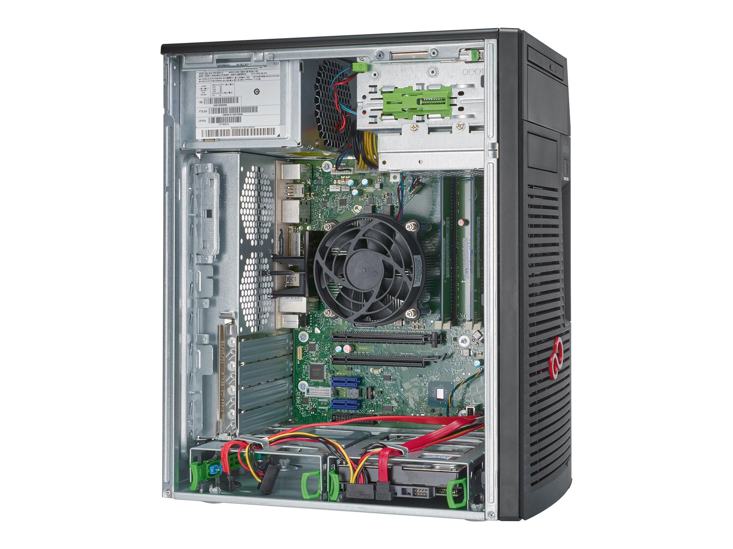 Fujitsu Celsius W580 - Micro Tower - 1 x Core i5 9500 / 3 GHz