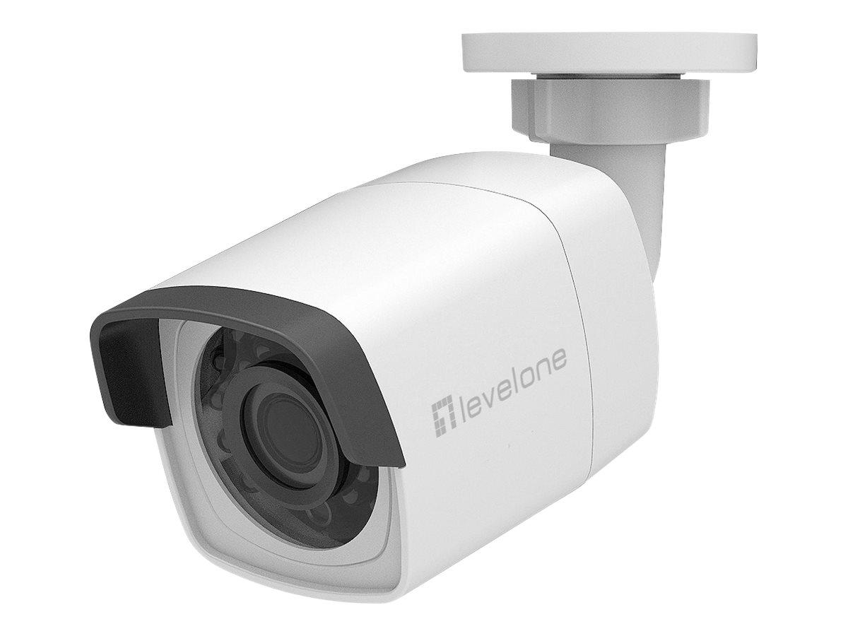 LevelOne GEMINI series FCS-5202 - Netzwerk-Überwachungskamera - Außenbereich, Innenbereich - wetterfest - Farbe (Tag&Nacht)