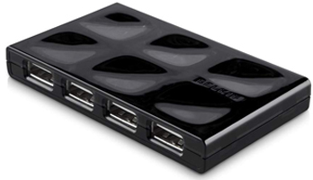 Belkin USB 2.0 Quilted Hub, 7 Ports, EU Power Supply