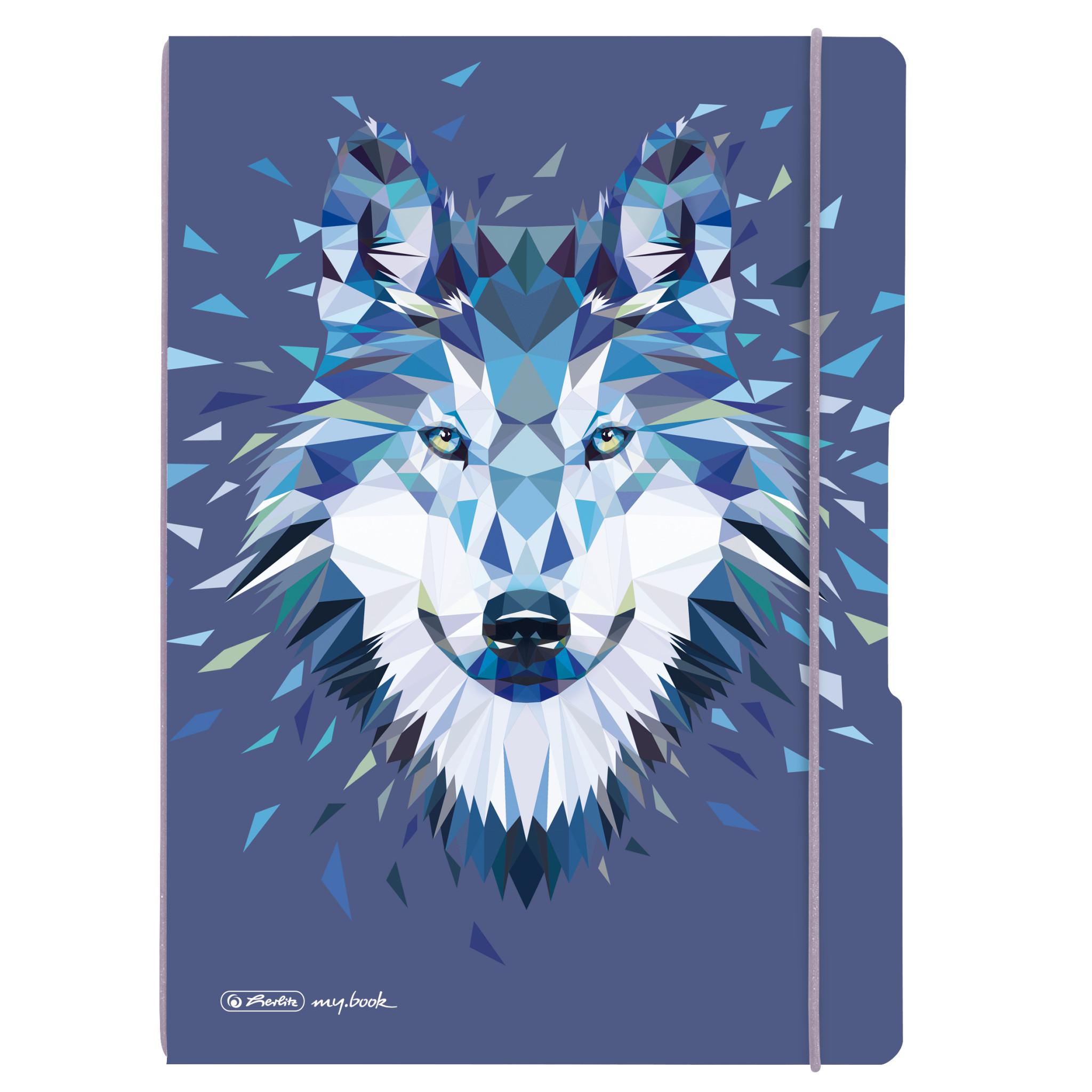 Vorschau: Herlitz 50027262 - Abbildung - Blau - A4 - 80 Blätter - 80 g/m² - Kariertes Papier