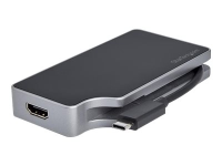 USB-C Multiport Display Adapter - 4-in-1 - 85W Power Delivery - Space Grau