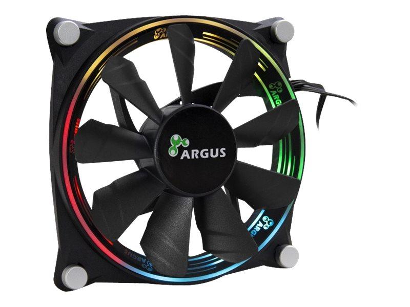 Inter-Tech Argus Valo 1205 RGB - Gehäuselüfter - 120 mm