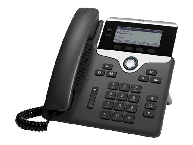 Cisco IP Phone 7821 - VoIP-Telefon - SIP, SRTP