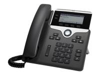 7821 IP-Telefon Schwarz - Silber Kabelgebundenes Mobilteil 2 Zeilen