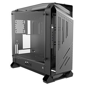 AZZA Ragnarok 801 - Midi ATX Tower - PC - Schwarz - ATX,EATX,Micro ATX,Mini-ITX,XL-ATX - 17,5 cm - 40 cm