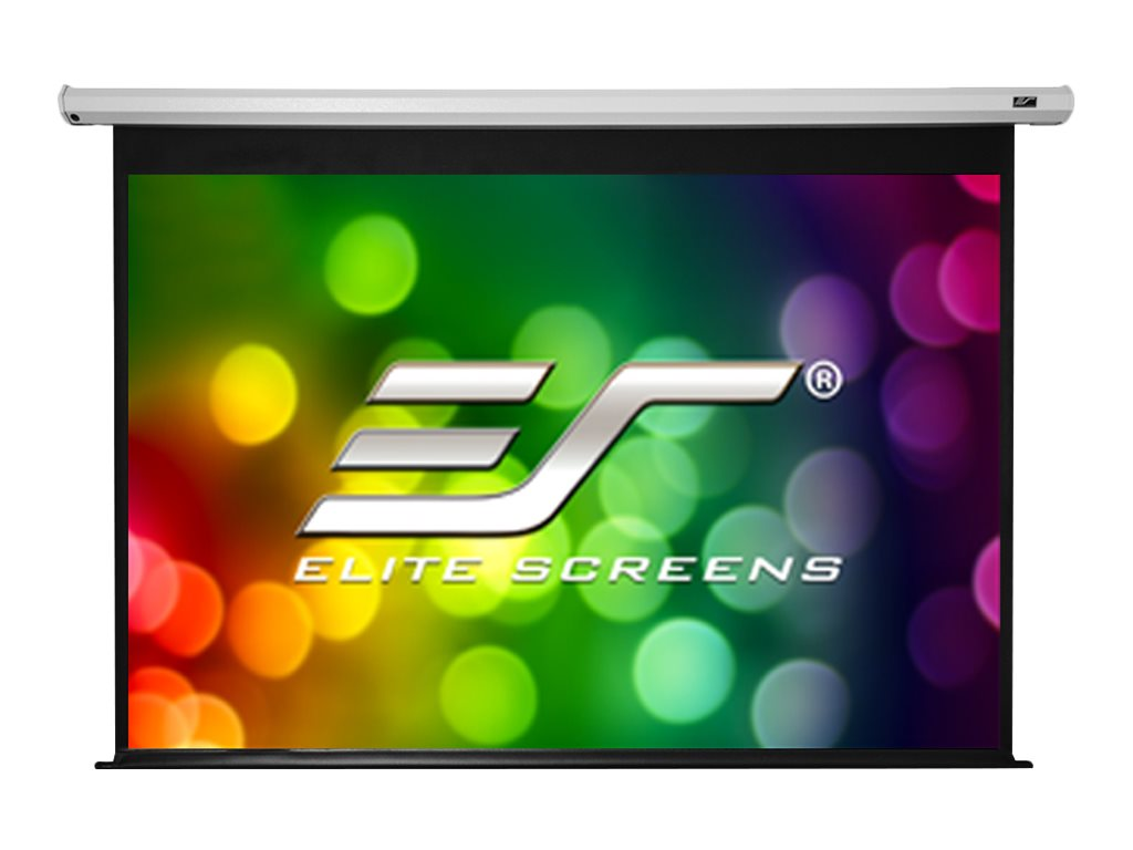"""Elite Screens Elite Spectrum Series Electric120V - Leinwand - Deckenmontage möglich, geeignet für Wandmontage - motorisiert - 305 cm (120"""")"""