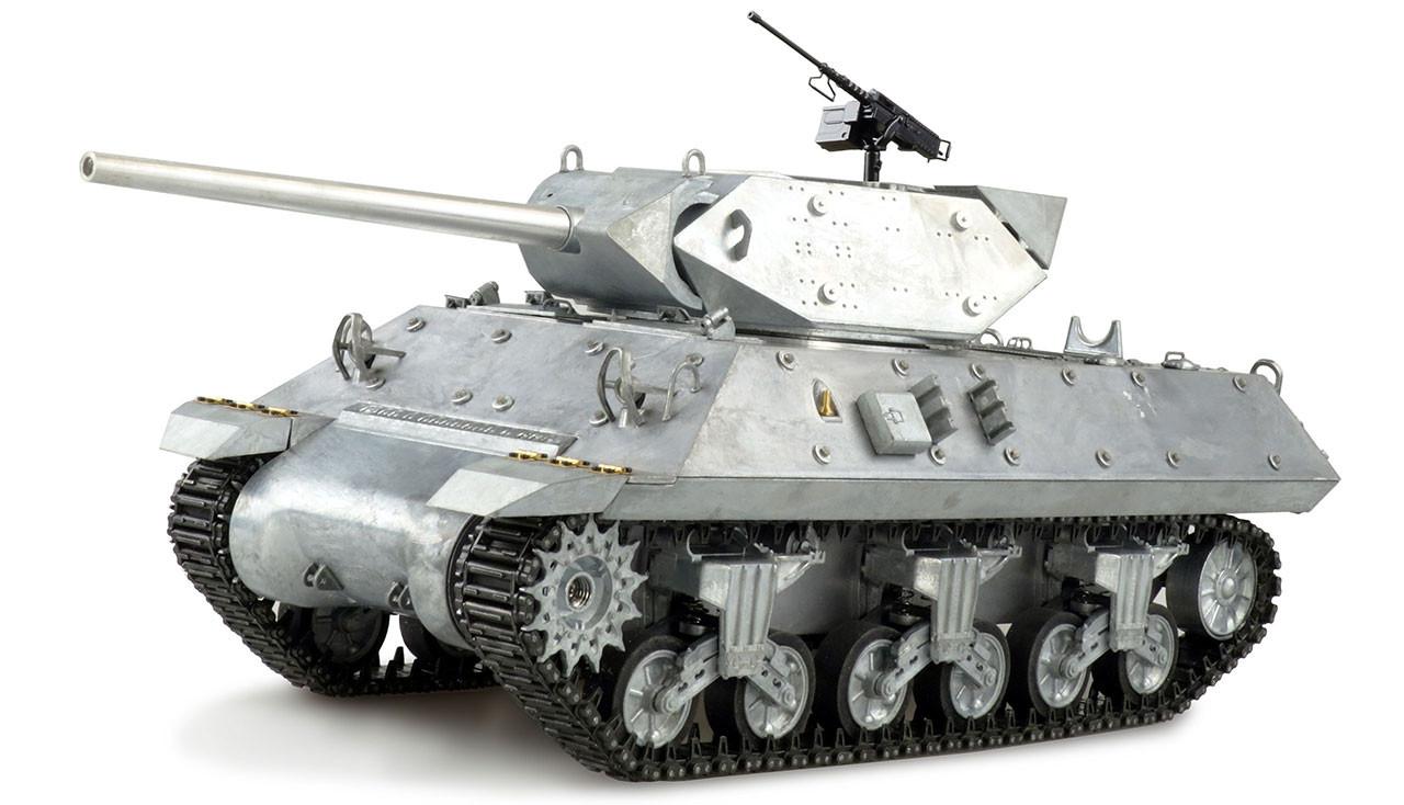 Amewi 23089 - Funkgesteuerter (RC) Panzer - Elektromotor - 1:16 - Betriebsbereit (RTR) - Metallisch - Metall