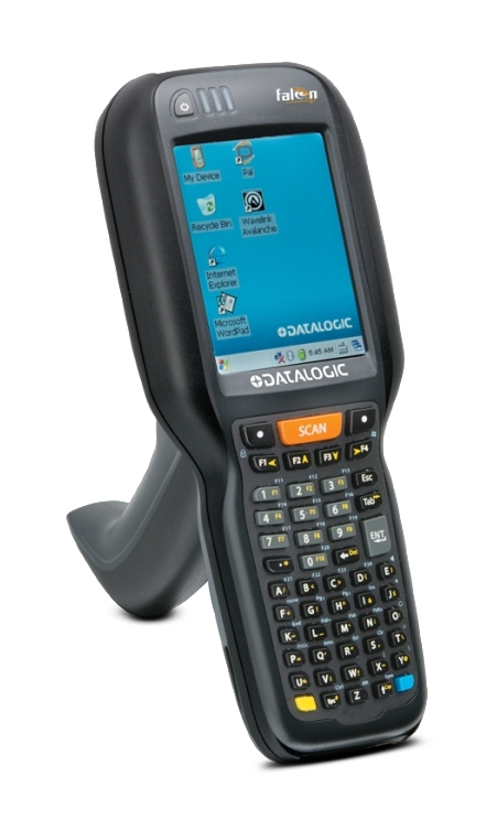 Datalogic Falcon X4 Handheld Mobile Computer 8,89 cm (3.5 Zoll) 240 x 320 Pixel Touchscreen 668 g Schwarz