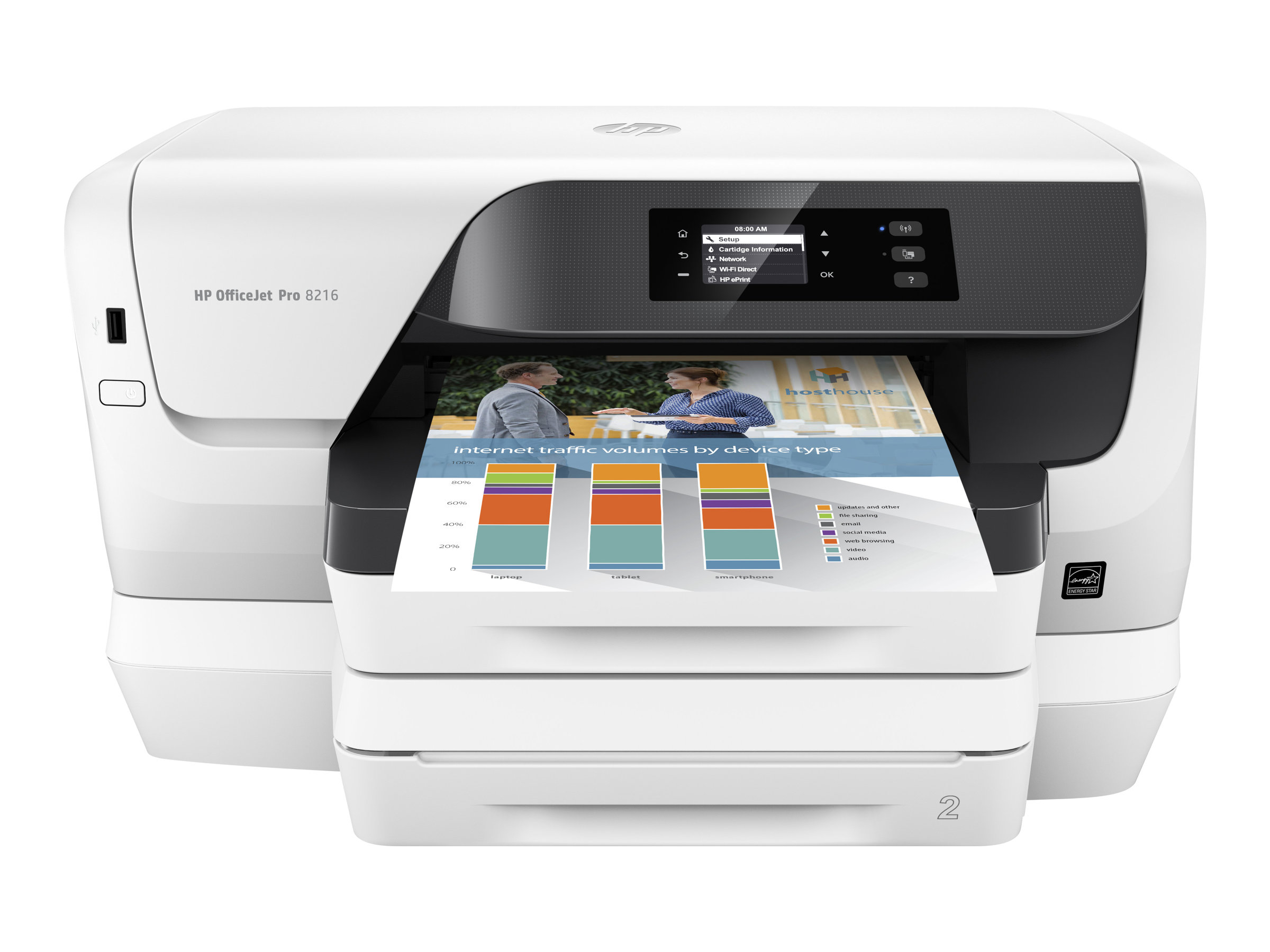 HP Officejet Pro 8218 - Drucker