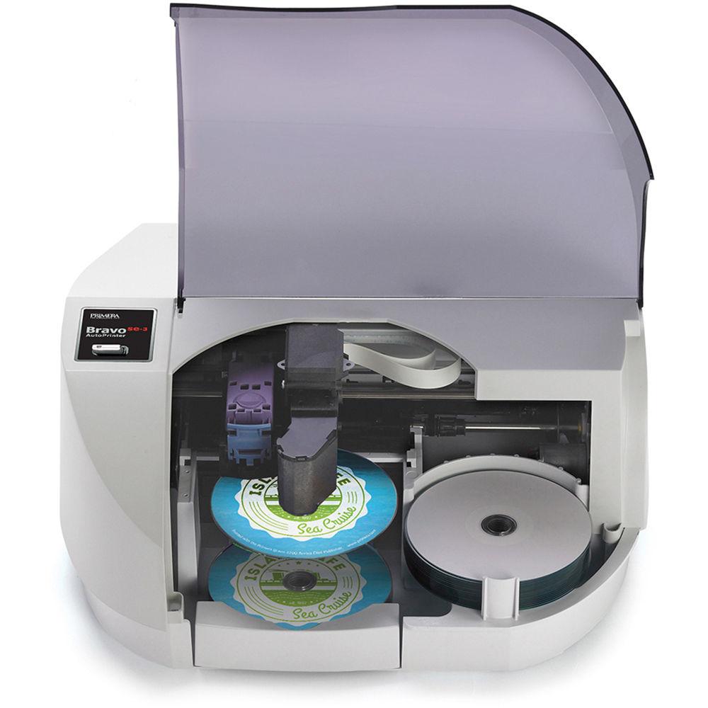 Primera SE-3 AutoPrinter - 381 x 375 x 178 mm - 7,7 kg - Windows: 7/8/10+ Mac: OS X v10.7 or higher - 2000 MB - Intel Celeron - 10 GB