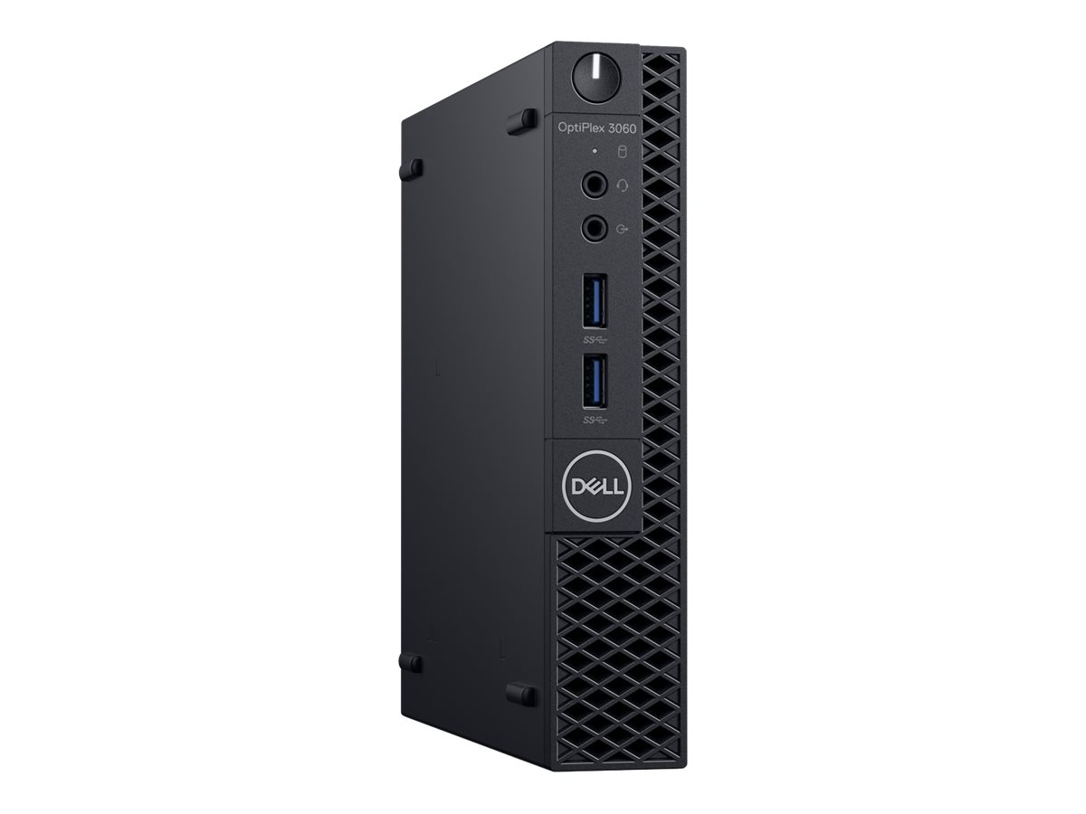Dell OptiPlex 3060 - Micro - 1 x Core i3 8100T / 3.1 GHz