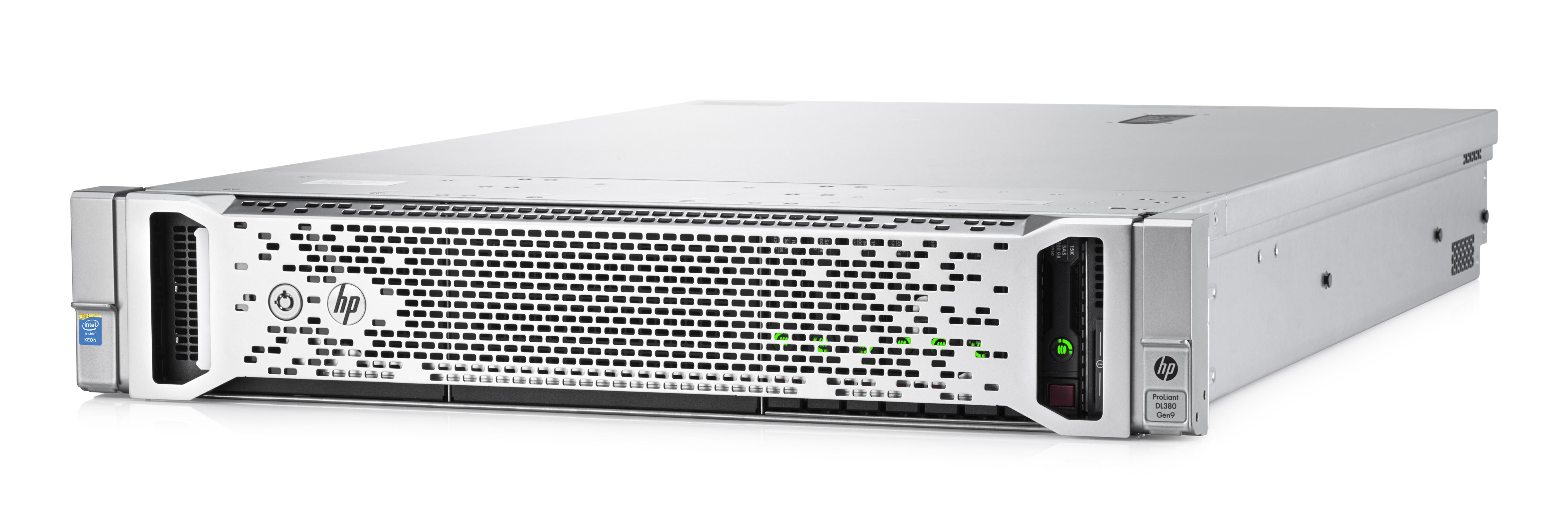 HPE DL380 Gen9 E5-2609v3 1P 8G 4LFF Svr (766342-B21)