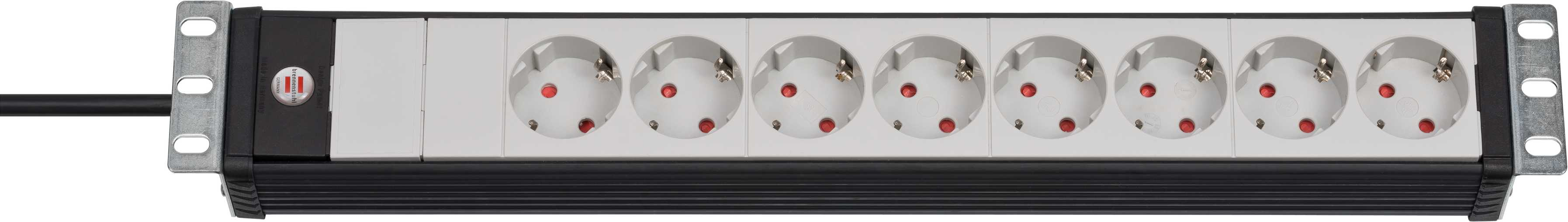 Brennenstuhl 1156057028 - 3 m - Schwarz - Grau - 105 mm - 65 mm - 485 mm - 840 g