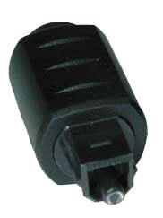 Image of Lindy Mini Optical -> TosLink Converter Noir adaptateur et connecteur de câbles