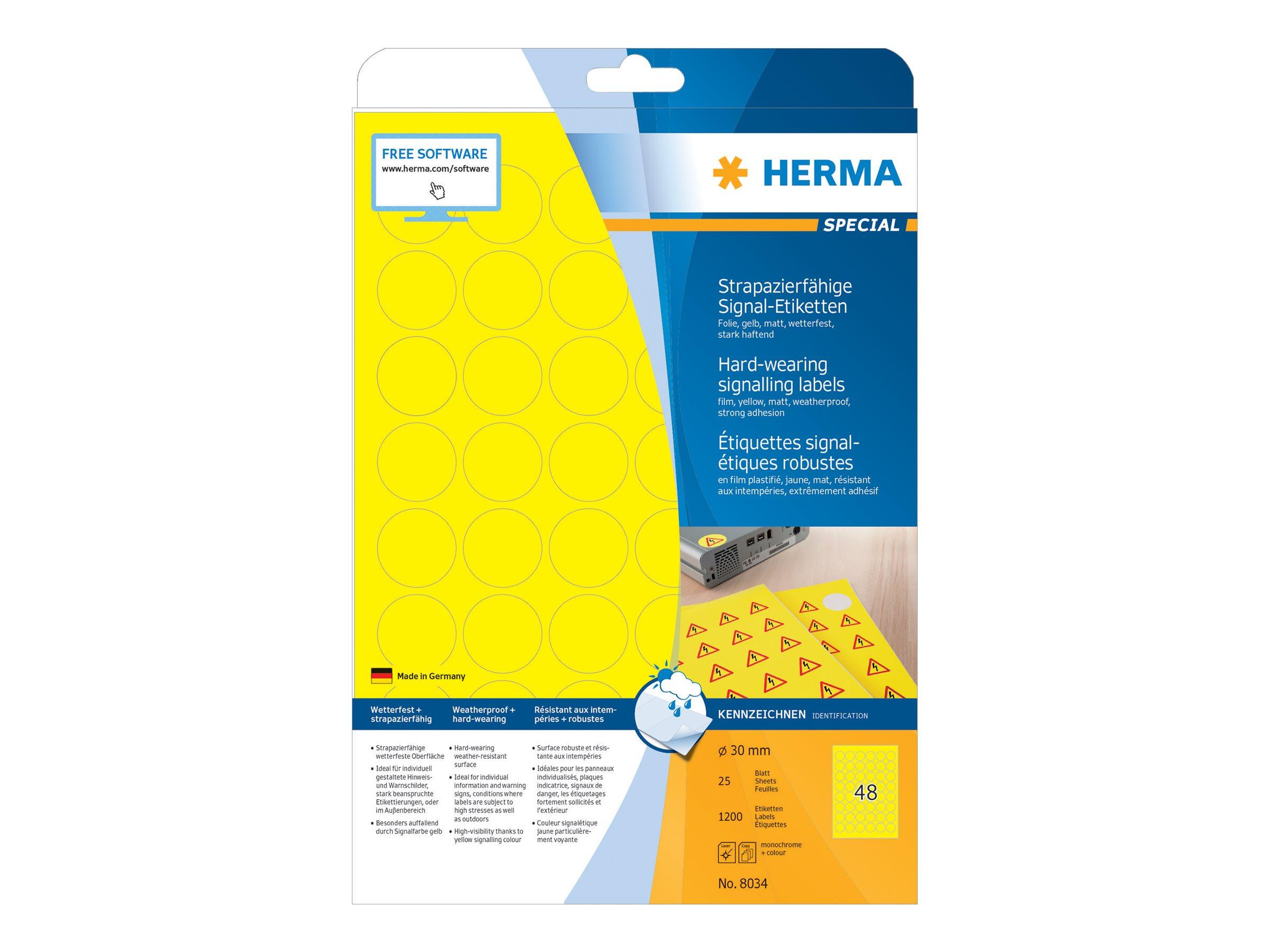 Vorschau: HERMA Special - Matt - selbstklebend