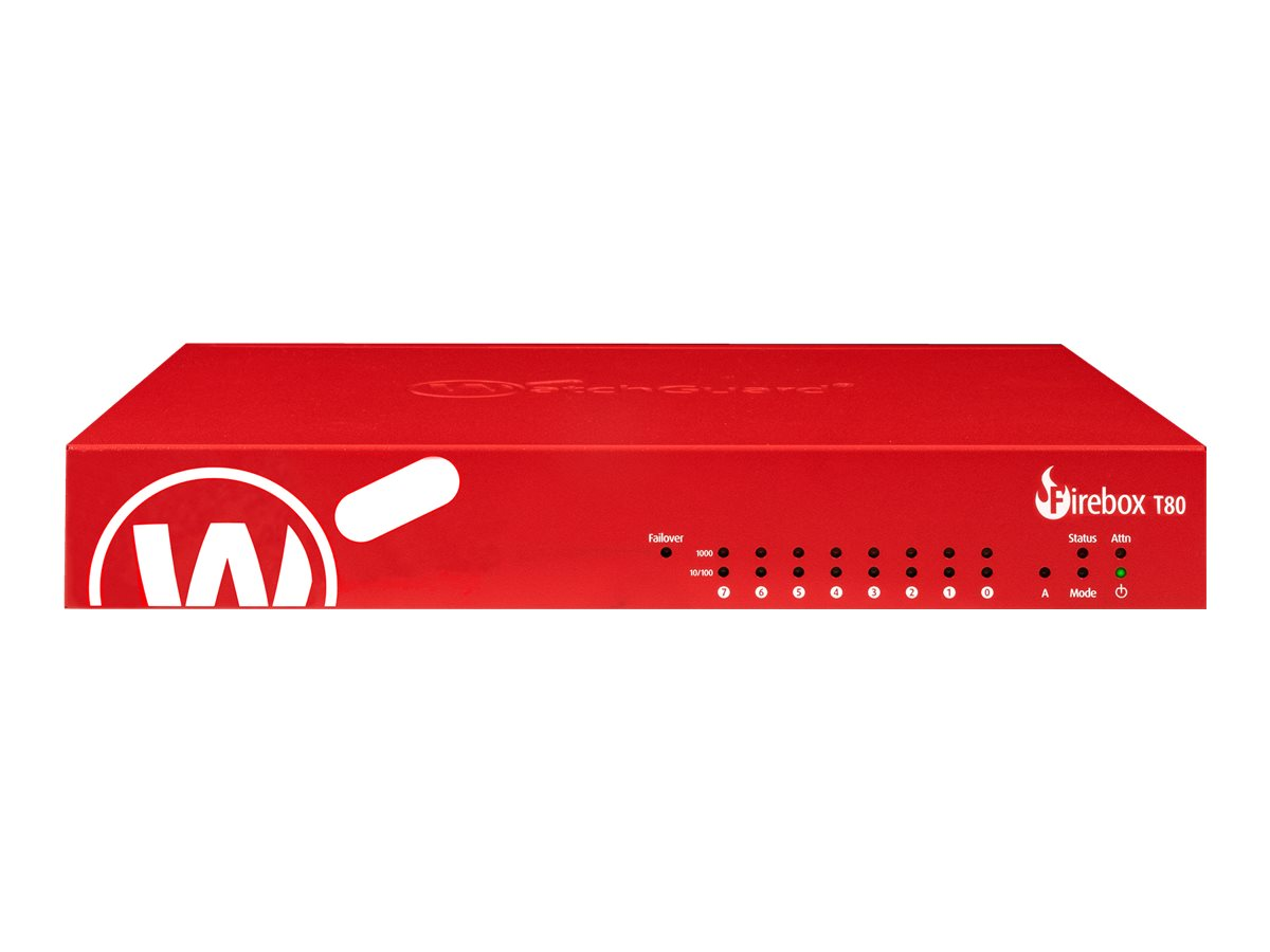 WatchGuard Firebox T80 - High Availability - Sicherheitsgerät