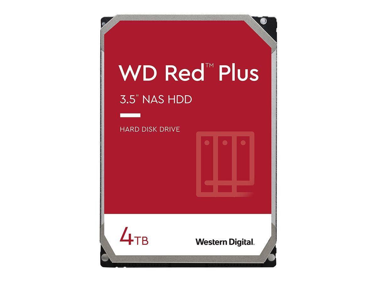 """Vorschau: WD Red Plus NAS Hard Drive WD40EFZX - Festplatte - 4 TB - intern - 3.5"""" (8.9 cm)"""
