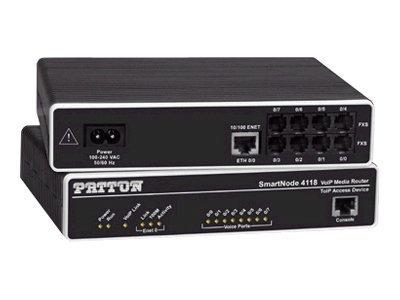 Patton SmartNode VoIP Media Gateway SN4118/JS/EUI
