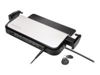 K33476EU Notebook-Dockingstation & Portreplikator Thunderbolt 3 Schwarz - Silber