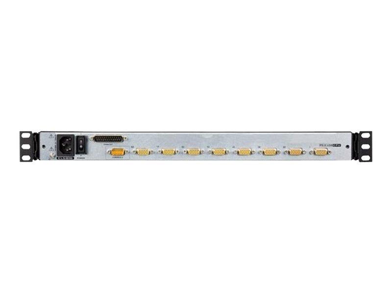"ATEN CL5808N - KVM-Konsole mit KVM-Switch - 8 Anschlüsse - PS/2, USB - 48.3 cm (19"")"