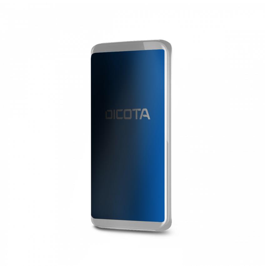 Dicota D70058 Smartphone Black Polyethylene terephthalate (PET) Privacy Scratchresistant Full adhesive