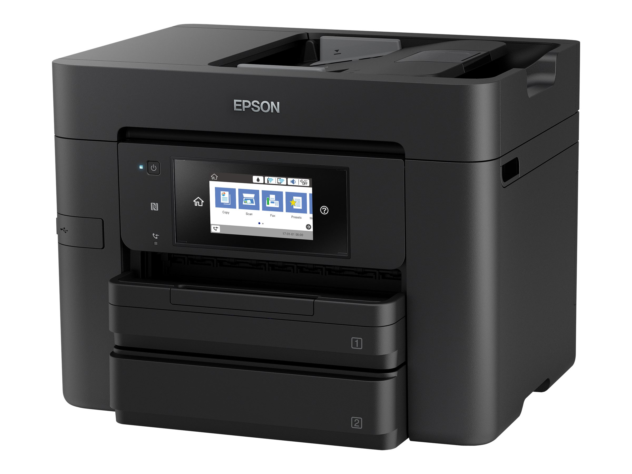 Epson WorkForce Pro WF-4740DTWF - Multifunktionsdrucker - Farbe - Tintenstrahl - A4 (210 x 297 mm)