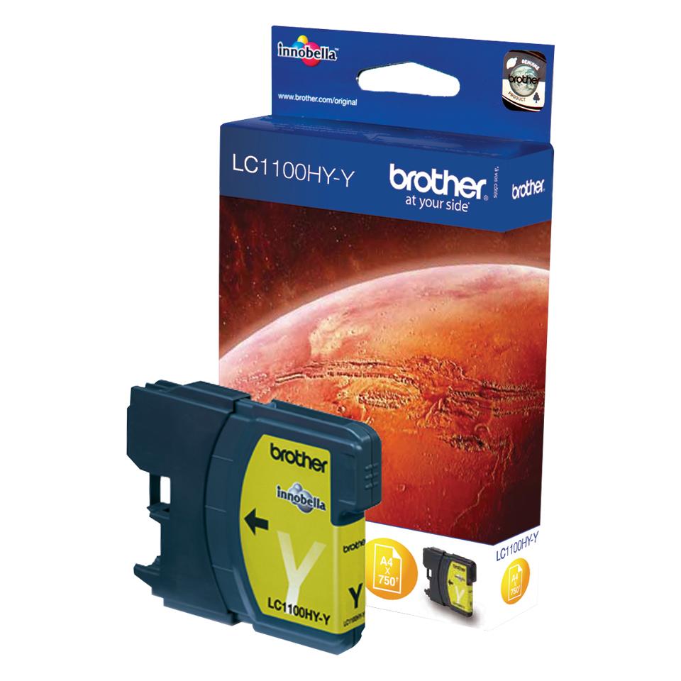 Brother LC LC1100HYY - Tintenpatrone Original - Yellow - 16 ml