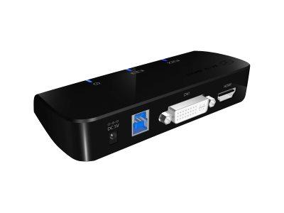ICY BOX ICY BOX IB-DK402 - Dockingstation - USB