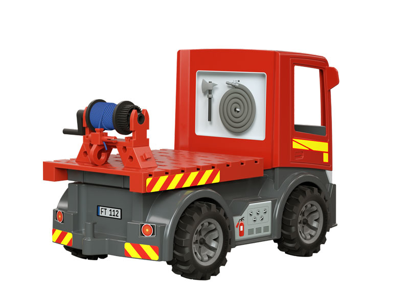 fischertechnik Easy Starter Fire Trucks - Mehrfarben - LKW - Kunststoff - 3 Jahr(e) - Junge - Indoor/Outdoor