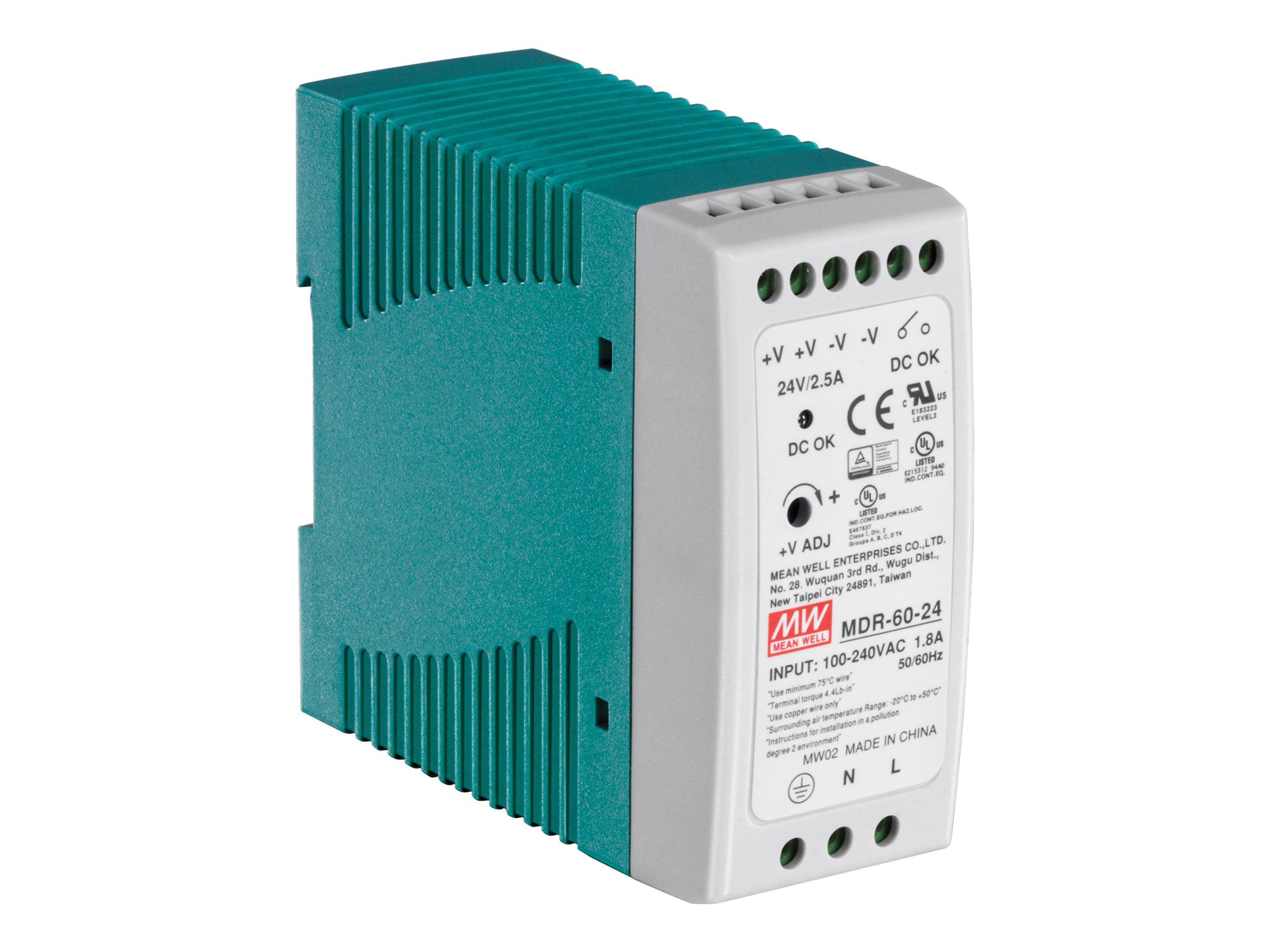 TRENDnet TI-M6024 - Stromversorgung (DIN-Schienenmontage m?glich)