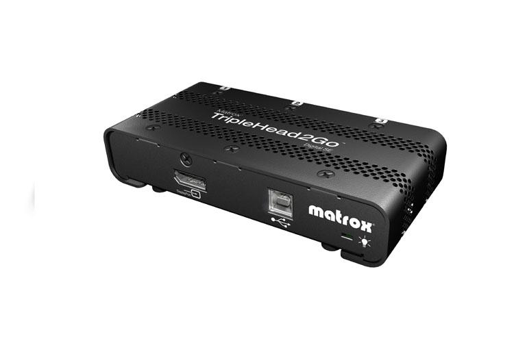 Matrox TripleHead2Go Digital SE DVI/DisplayPort