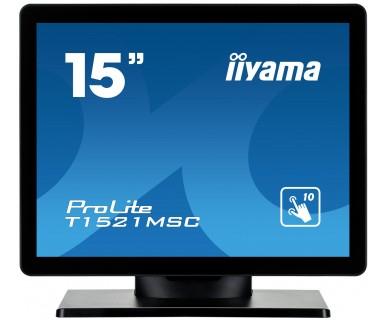 Iiyama ProLite T1521MSC-B1 - LED-Monitor - 38.1 cm (15)