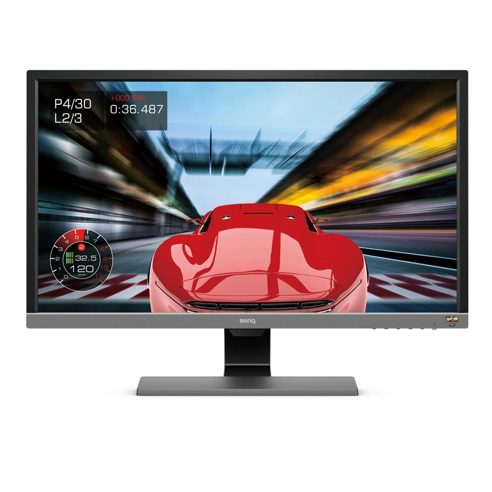 BenQ EL2870U - 70,9 cm (27.9 Zoll) - 3840 x 2160 Pixel - 4K Ultra HD - LED - 1 ms - Schwarz - Grau