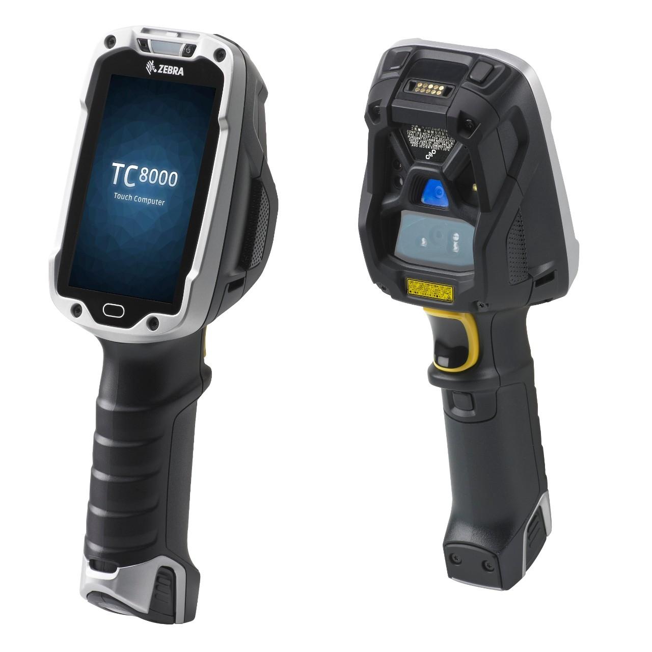 Zebra TC8000 Premium 2D MR BT - Datenerfassungsgerät - 1.700 MHz