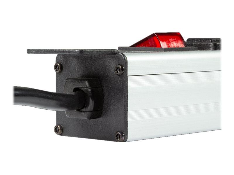 LogiLink Stromverteilungseinheit (Rack - einbaufähig) - Eingabe, Eingang CEE 7/7 - Ausgangsanschlüsse: 8 (8 x 4-poliger USB Typ A)