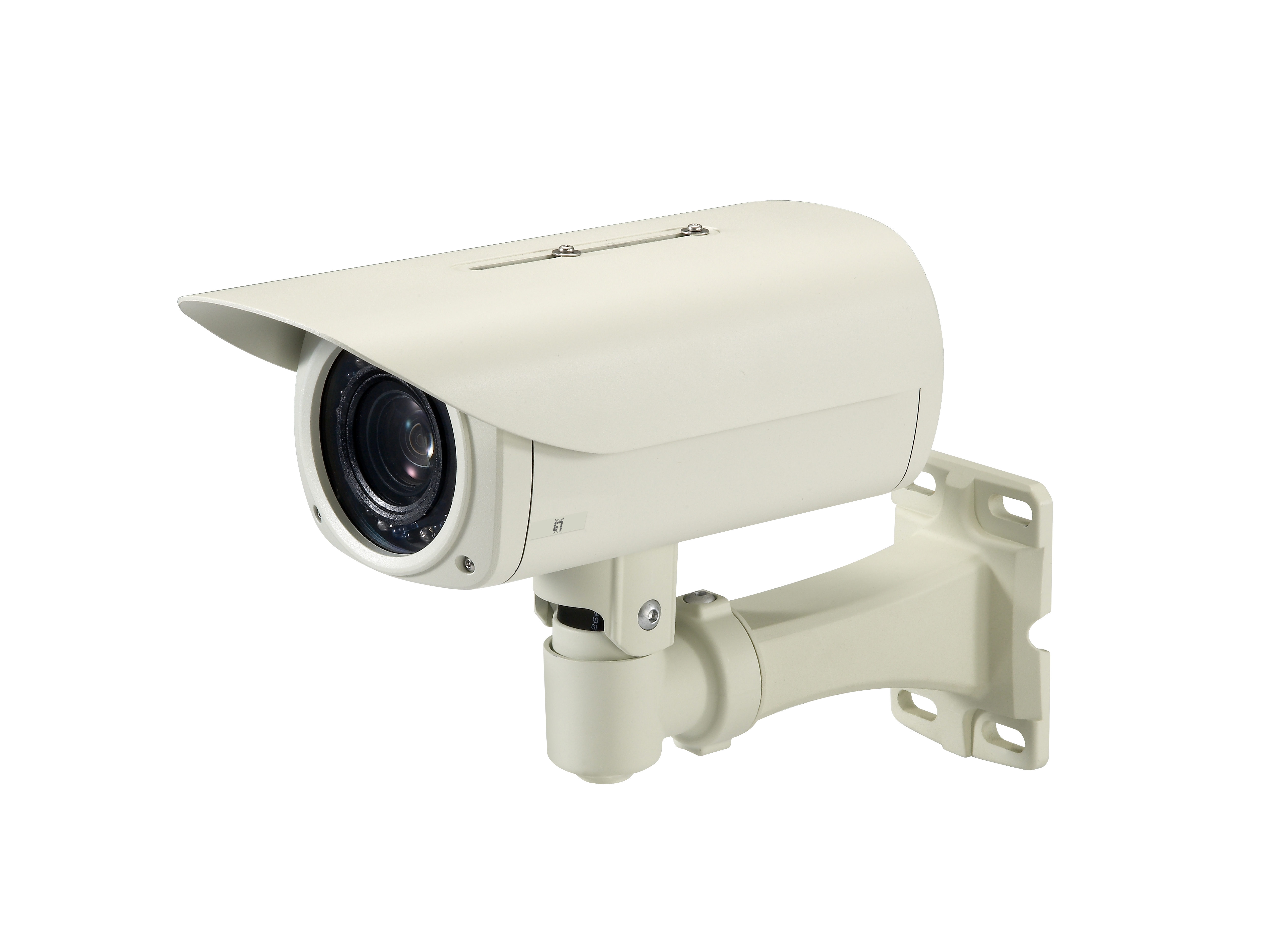 LevelOne Zoom Network Camera - 5-Megapixel - Outdoor - PoE 802.3af - Day & Night - IR LEDs - 12x - WDR