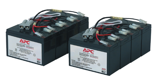 APC REPLACABLE BATTERY Plombierte Bleisäure (VRLA) Wiederaufladbare Batterie