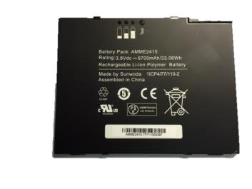Zebra Motorola - Batterie - Li-Ion - 8700 mAh - für Zebra ET50 (10.1 Zoll)