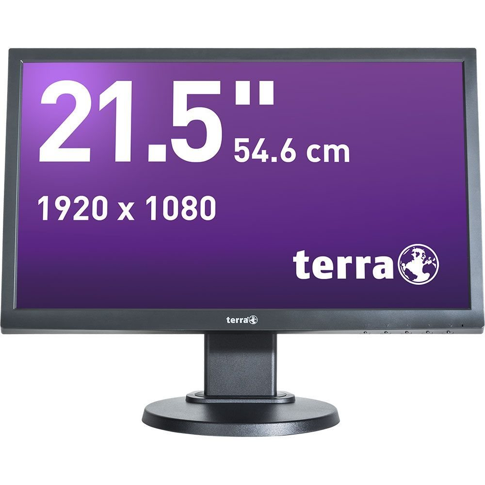 Wortmann TERRA LED 2255W 21.5Zoll Full HD TN Matt Schwarz
