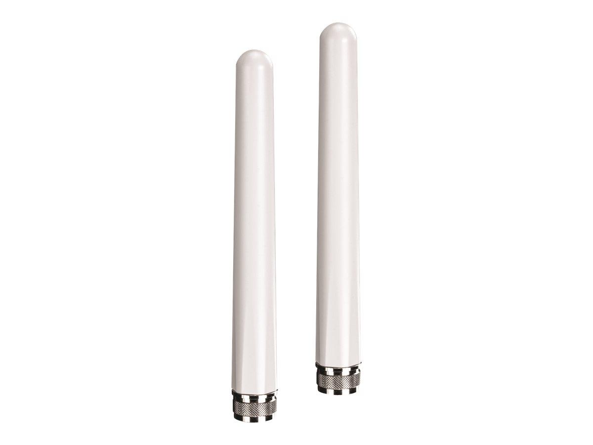 TRENDnet TEW AO57 5/7 dBi Outdoor Dual Band Omni Antenna Kit - Antenne - Wi-Fi - 7 dBi (für 5 GHz)