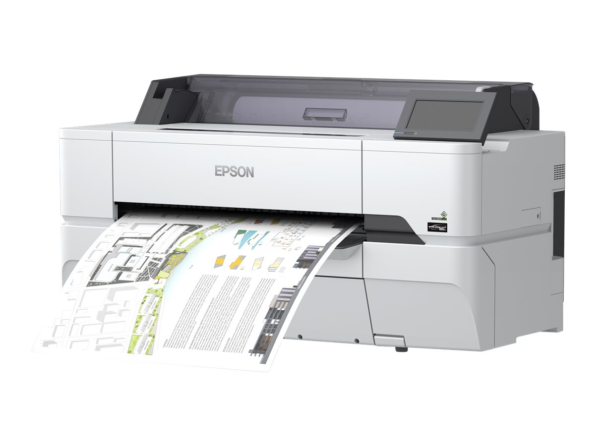 "Epson SureColor SC-T3400N - 610 mm (24"") Gro?formatdrucker - Farbe - Tintenstrahl - Rolle A1 (61,0 cm)"