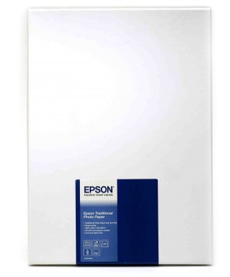 Epson Traditional Photo Paper - Fotopapier - A4 (210 x 297 mm)