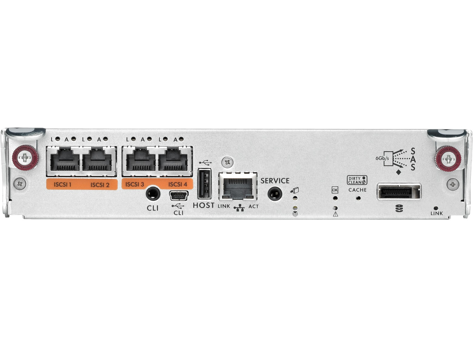 HP P2000 G3 iSCSI MSA Controller (BK829B) - REFURB