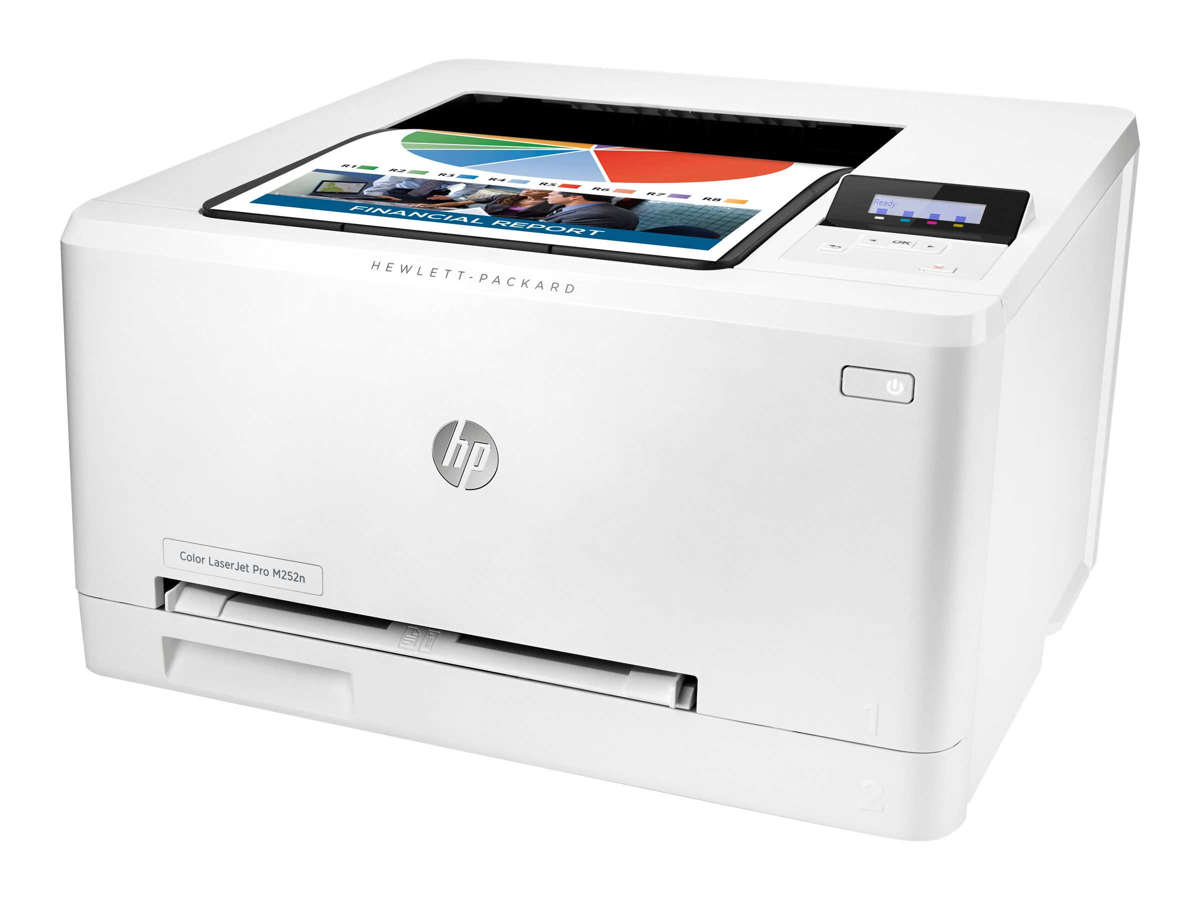 Vorschau: HP Color LaserJet Pro M252n - Drucker